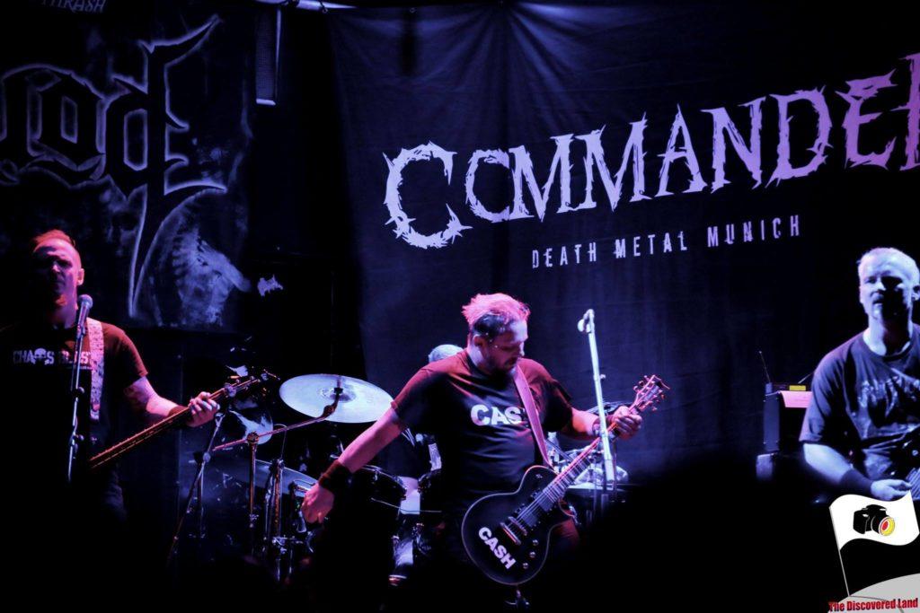 Commander 02.12.2017 Backstage München Konzert