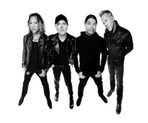 Metallica am 26.04.2018 in der Olympiahalle München
