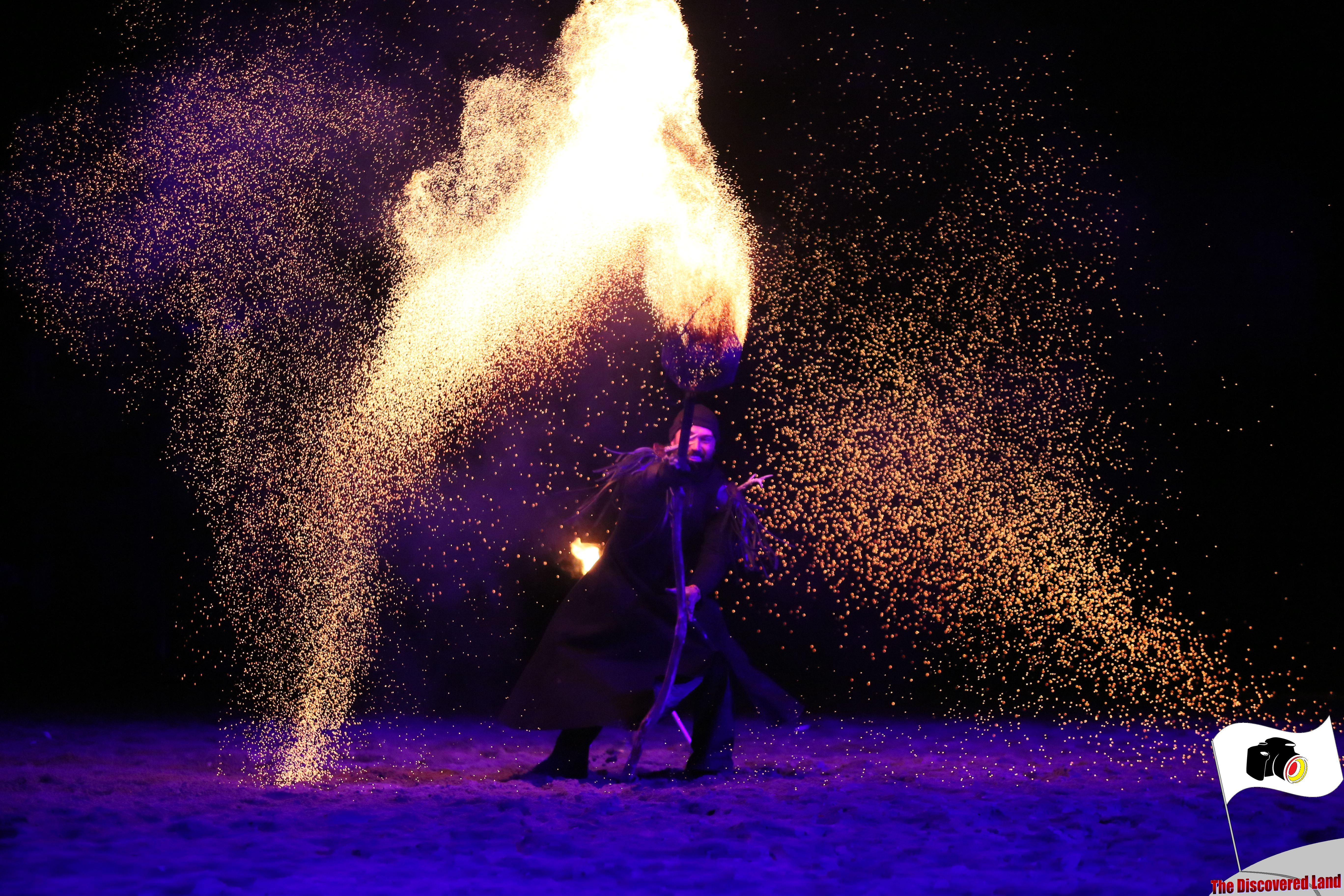 Kaltenberger Ritterturnier Feuershow