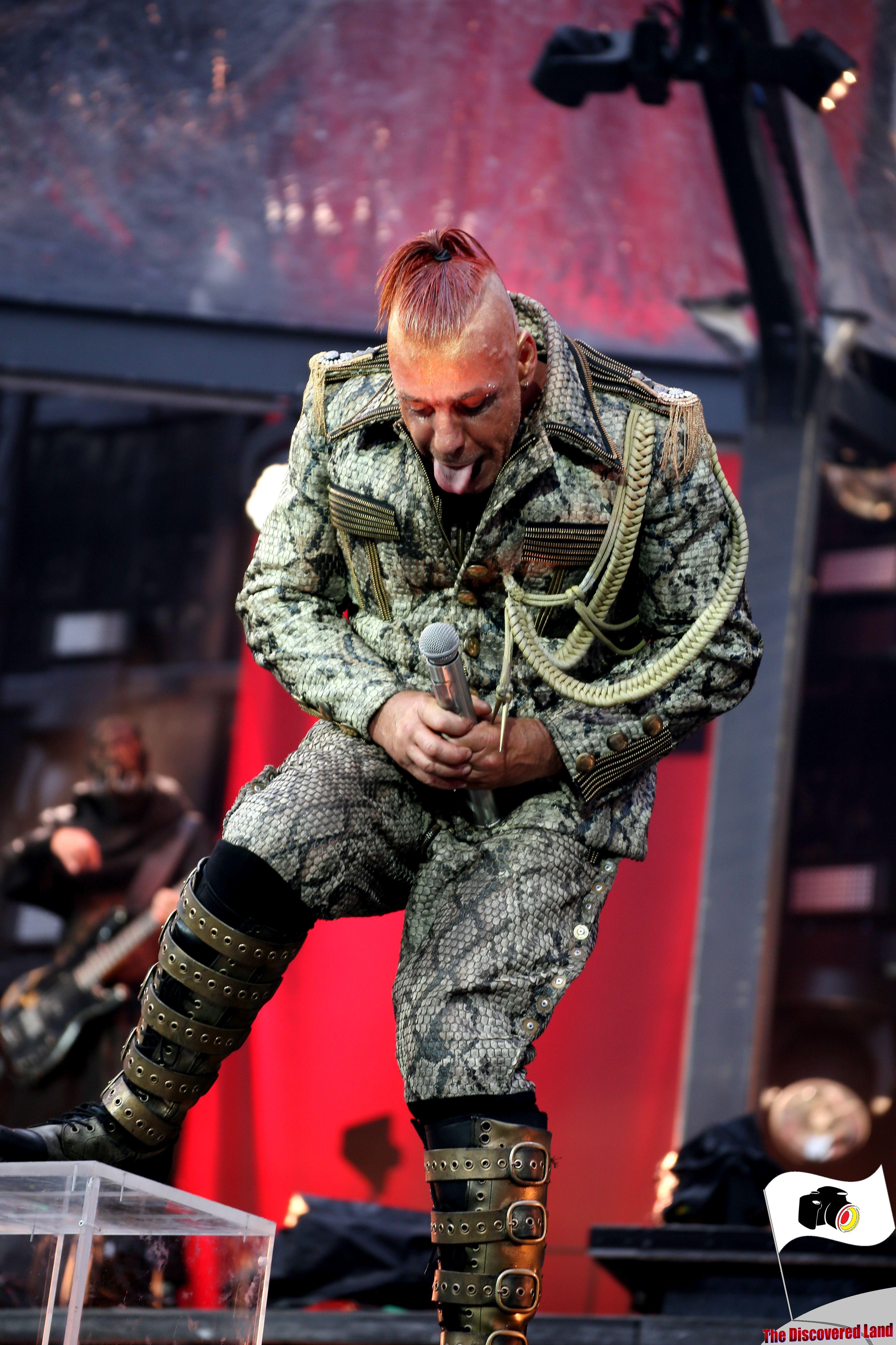 Rammstein am 06.09.2019 im Olympiastadion München