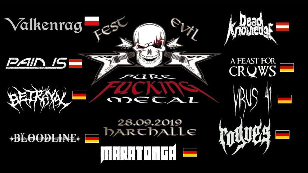 Pure Fucking Metal Festevil 2019