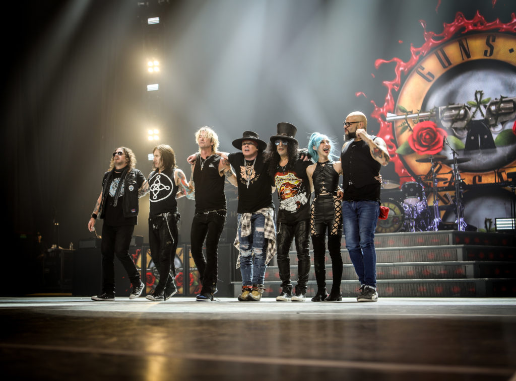 Guns'n'Roses - Photo-Source Live-Nation
