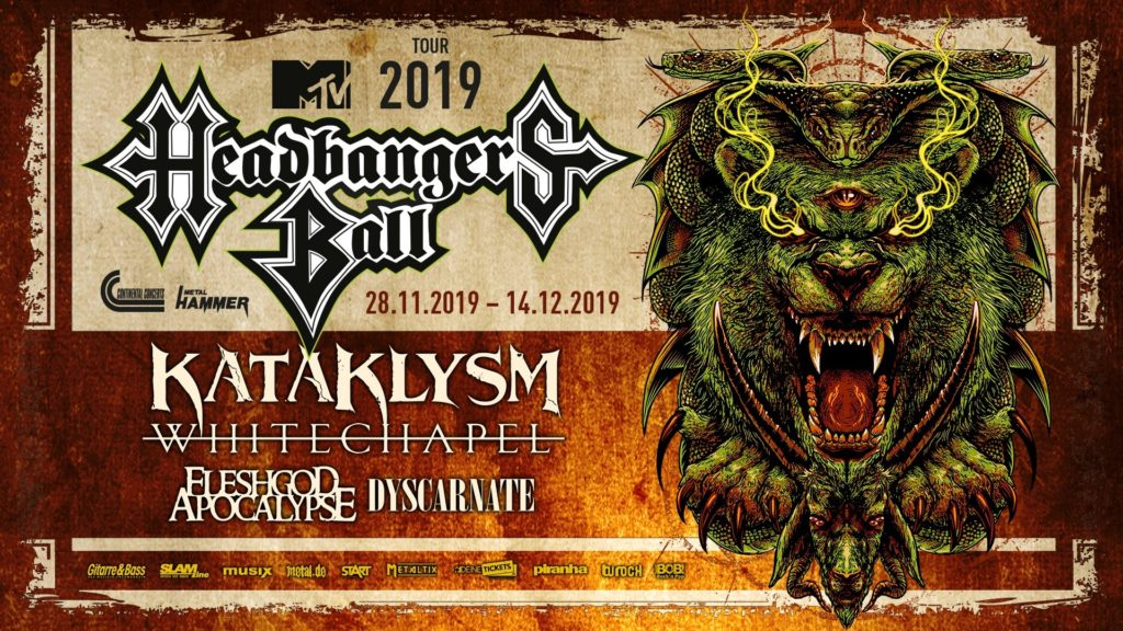 MTV Headbangers Ball 2019