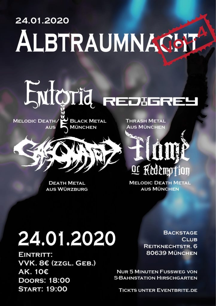 Entorias Albtraumnacht Vol. 4