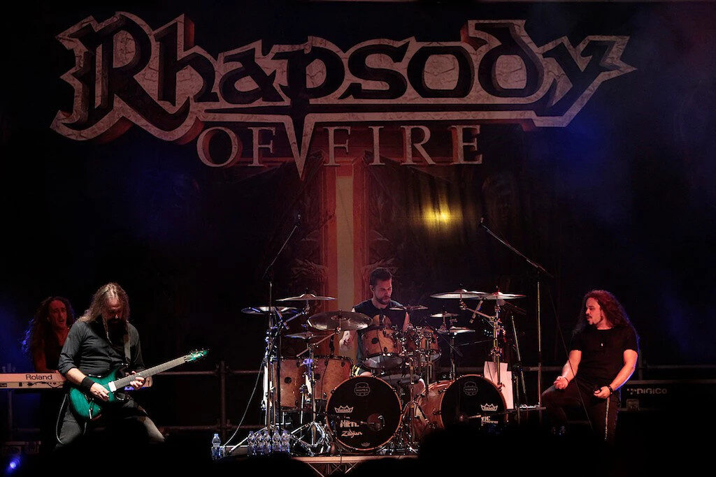 Rhapsody Of Fire Life on Stage