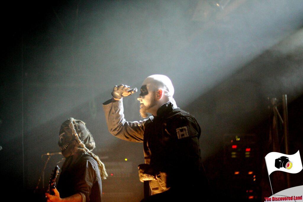 Hämatom auf der Bühne