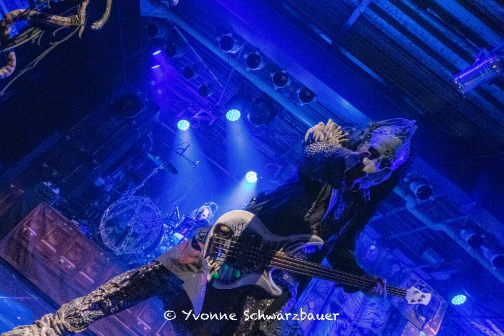 Hiisi (Lordi) live on Stage