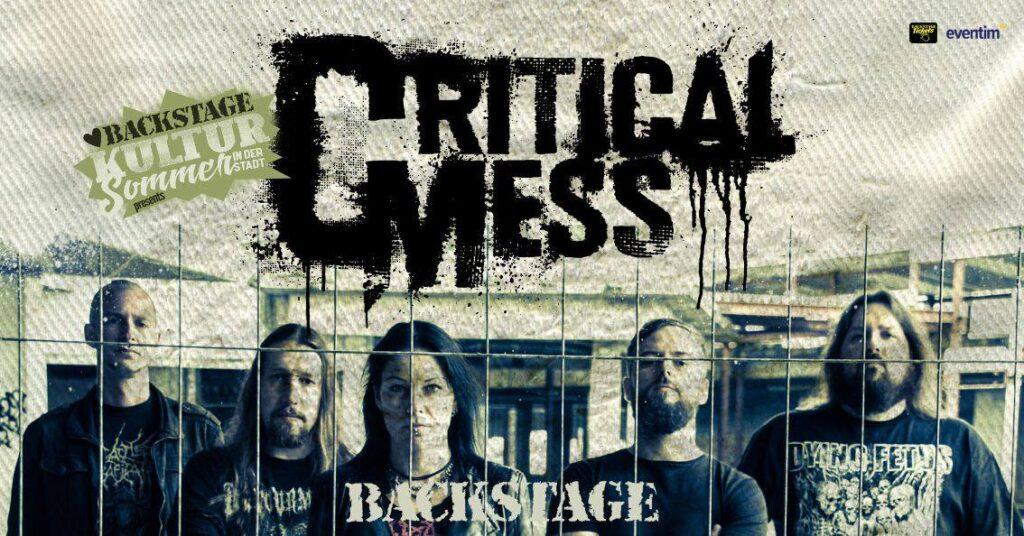 Critical Mess 03.09.2021 Backstage München