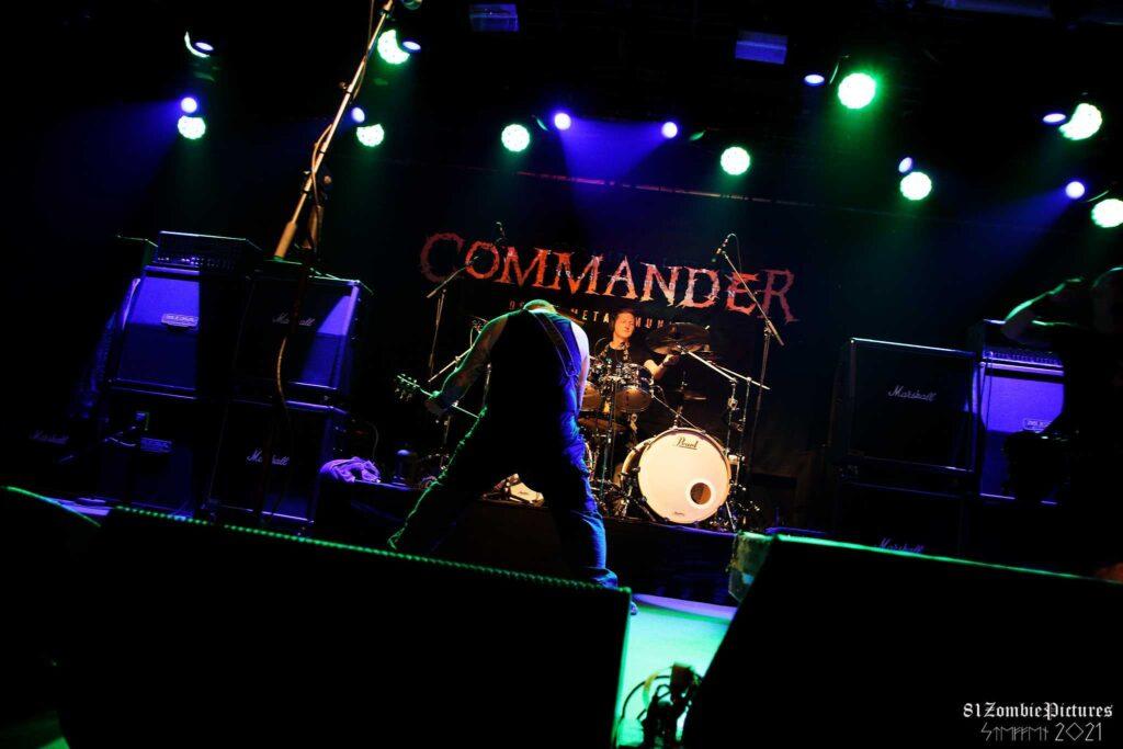Commander live on Stage