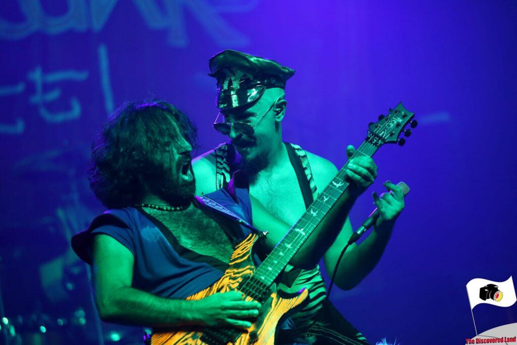 Nanowar Of Steel live on Stage